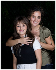 Sisterly Love (Backwards HAT) Tags: portrait sisters backyard