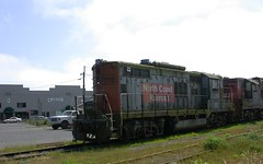 Eureka, CA diesels 1128z (DB's travels) Tags: california railroad abandoned humboldt eureka us101 temphrr