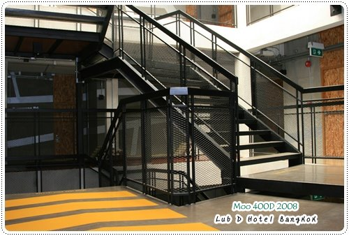 Lub d Hotel-樓梯