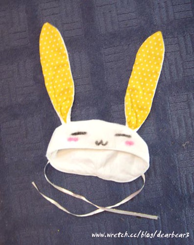 bunny hat! by you.