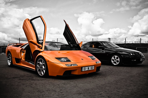 Lamborghini Diablo 6.0 Nice view