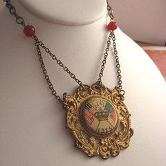 I Refuse (Opulent Oddities) Tags: old vintage antique victorian jewelry medal badge oddities ornate fraternal brass opulent vintagejewelry opulentoddities