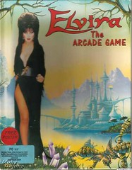 Elvira: The Arcade Game box front