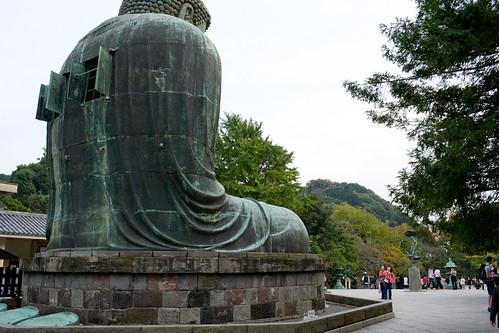 L'arrière du daibutsu