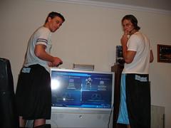 Playing Halo (ashbrian) Tags: 2005 newyork brooklyn worldtrip