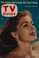 TV Guide May 18-24, 1957 (The Pie Shops Collection) Tags: television swimming vintage magazine tv 1957 tvguide salmineo artlinkletter estherwilliams