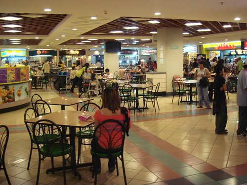 The Mall foodcourt