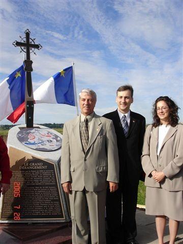 Dévoilement Monument Dieppe