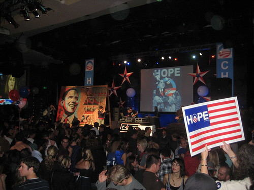 Barack Obama Victory Party @ Hyatt Century Plaza November 4, 2008