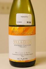 """2004 Andrea Faccio Villa Giada """"Audrel"""" Moscato D'Asti"""