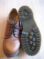 doc martens shoes (surly stare) Tags: shoes freecycle
