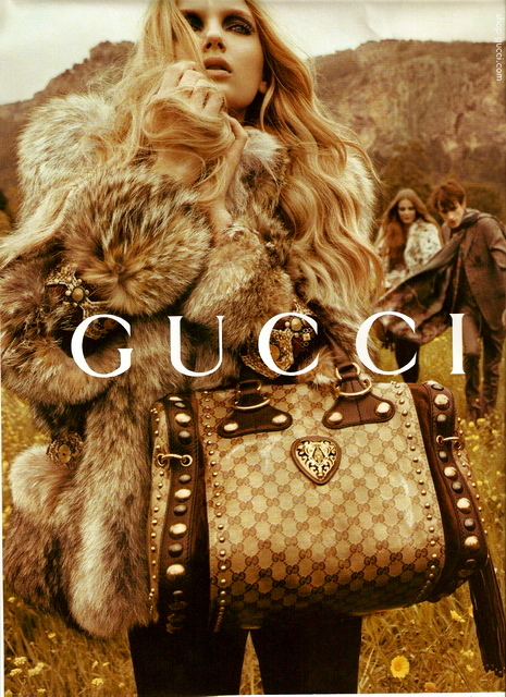 Gucci Fall-Winter 2008 . 2009 Ad Campaign