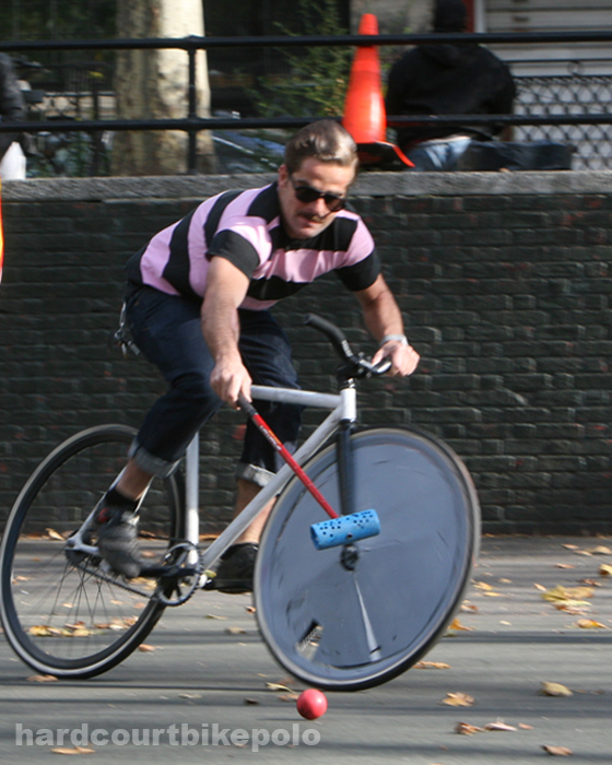 bike polo nyc 11-9-2008 yorgo chase