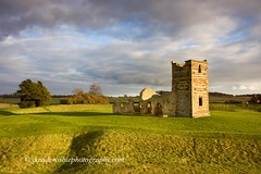 Knowlton Church 1 (David Crosbie) Tags: autumn church landscapes medieval dorset knowlton cranborne