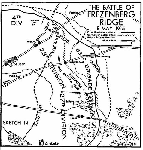 The Battle of Frezenberg Ridge