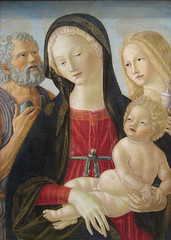 Madonna and Child with Saints Jerome and Mary Magdalene, ca. 1490 (Maulleigh) Tags: art museum de child with madonna mary saints jerome met metropolitan metropolitanmuseum magdalene landi neroccio