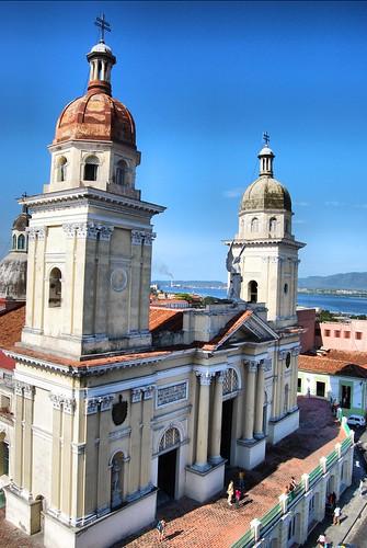 Catedral en Santiago de Cuba