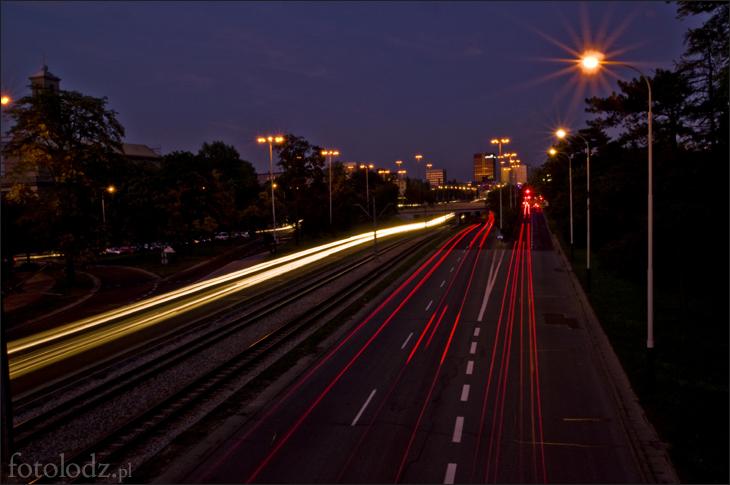 Pędząc przez miasto