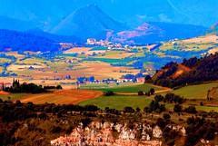 A landscape in Carcassonne, South of France (Nature) (natureloving) Tags: france mountains colour nature field landscape nikon southoffrance carcassonne hbw d40x natureloving