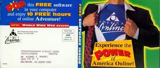comics ad - AOL Mailer