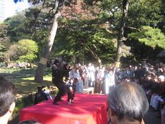 A Bunraku show