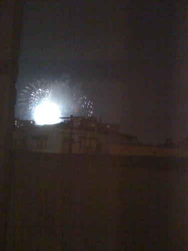 Fireworks from The Grove