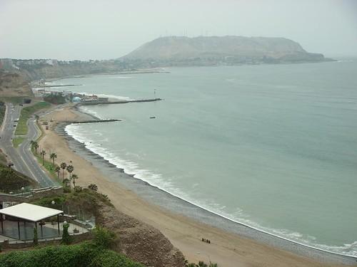 Miraflores seafront, Lima - Peru...