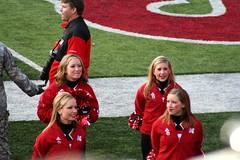 IMG_8288 (RLEVANS) Tags: football nebraska colorado cheerleaders memorialstadium ncaa huskers buffaloes big12