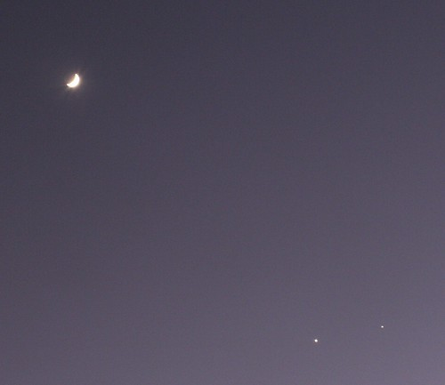The Moon, Venus, and Jupiter 2