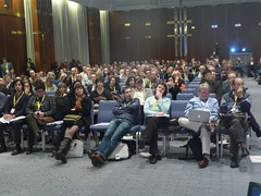 Audience during the 2nd plenary