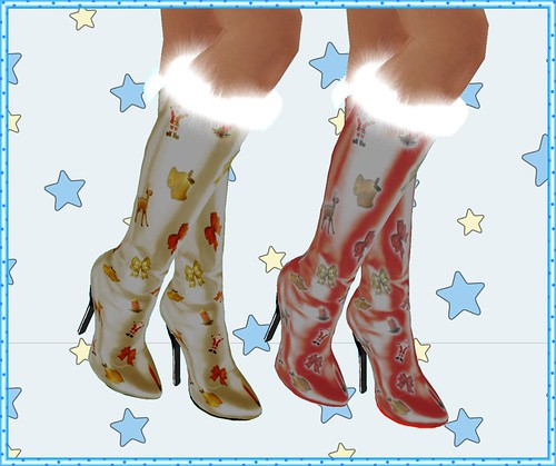 eva xmas boots