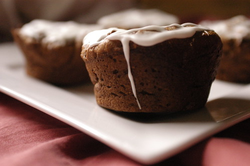 ginger-molasses cupcakes II