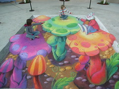 3D Street Painting - Tracy Lee Stum by Tracy Lee Stum