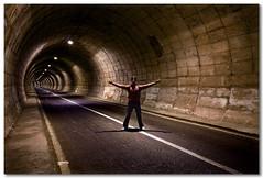 The tunnel (Selfportrait) (José Andrés Torregrosa) Tags: spain tunnel murcia sigma1020 calasparra pantanodelcenajo