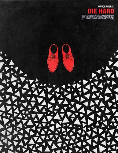poster arte película Duro de Matar