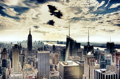 South of Rockefeller (alphaquam) Tags: new york city nyc manhattan rockefeller hdr