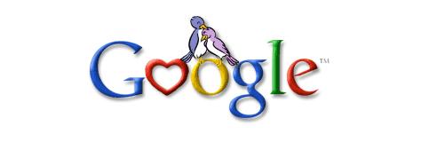 Google's Valentines Day Logo
