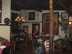 Inside Nixon's favorite restaurant, El Adobe. (02/15/2009)