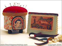 Pincushion & Needle Case