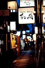 Pontocho at Night (Kyoto, Japan) (0aperture) Tags: japan night canon kyoto pontocho highiso f12 rokkor canon24105mmf4lisusm 5812 minoltarokkor canon5dmkii canon5d2