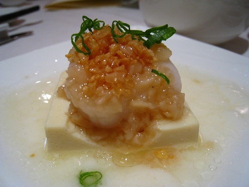 Garlic Steamed Fresh Scallop with Tofu @ Chinese Box