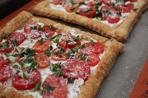 Tomato Herb Tarts