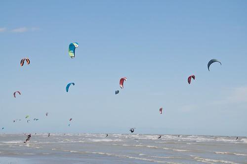 Kite Surfing Camber Sands