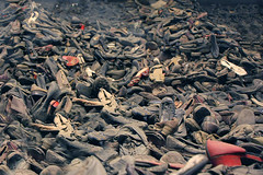 A million silent footsteps (**Anik Messier**) Tags: canada holocaust shoes nazis wwii poland internment auschwitz unescoworldheritage concentrationcamp secondworldwar kanada pologne souliers campdeconcentration auschwitzbirkenau owicim secondeguerremondiale auschwitzbirkenaustatemuseum konzentrationslagerauschwitz nazioffice oldusedobjects altebenutztegegenstnde
