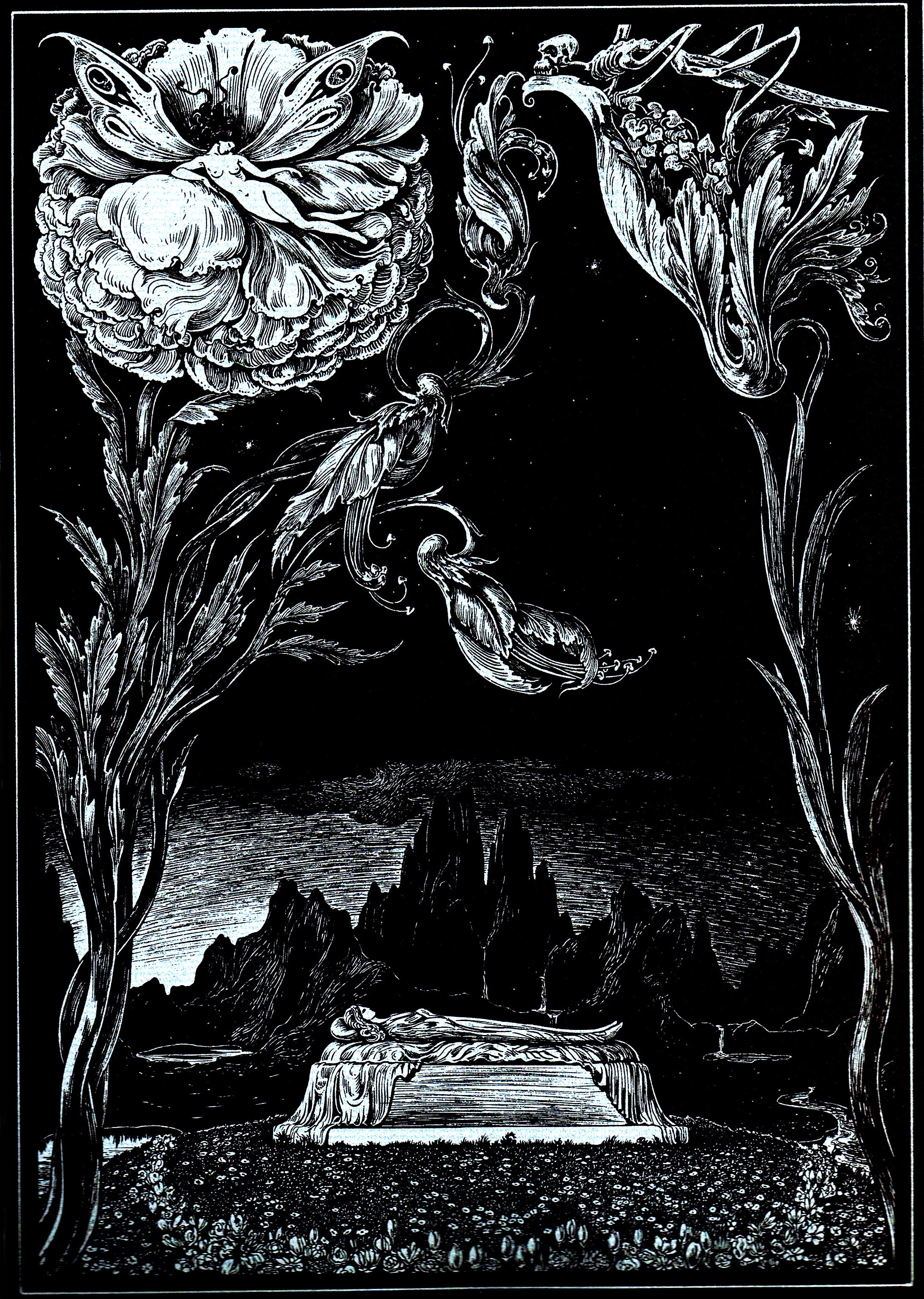 edgar allan poe illustrations - photo #5