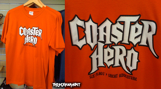 Coaster Hero T-shirt