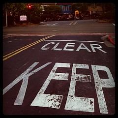 keep clear (ValFriday) Tags: mywalktowork