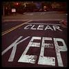 keep clear (ValFriday) Tags: mywalktowork