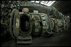 Godflesh (Midnight - Digital) Tags: door england industry monster metal industrial pipes machine machinery urbanexploration rusted ue urbex pyestock