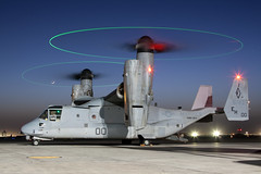Magical Osprey... (Tony Osborne - Rotorfocus) Tags: camp afghanistan freedom us marine bell united nightshoot corps states boeing enduring bastion osprey v22 tiltrotor 2011 helmand mv22 leatherneck